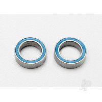 Ball bearings, blue rubber sealed (8x12x3.5mm) (2pcs)