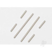 Suspension pin set (front or rear), 2x46mm (2pcs), 2x14mm (4pcs)