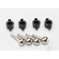 Pivot balls (4pcs) / pivot ball caps (4pcs)