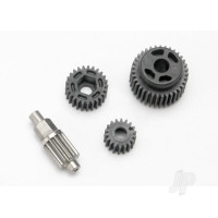Gear Set, transmission (includes 18T, 25T input gears, 13T idler gear (Steel), 35T output M3x13.75 screw pin)