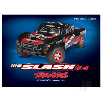 Owner's manual, 1:16 Slash 4WD (model 7005)