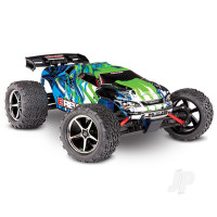 Green E-Revo 1:16 4X4 Monster Truck (+ TQ, XL-2.5, Titan 550, 6-Cell NiMH, DC Charger)
