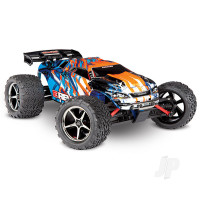 Orange/Blue E-Revo 1:16 Scale 4WD Racing Monster Truck (+ TQ)