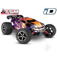 PURPLE E-Revo VXL 1:16 Scale 4WD Racing Monster Truck (+ TQi ,TSM, iD, NiMH, 2A DC)
