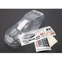 Body, 1:16 E-Revo (clear, requires painting) / grille and lights decal sheet