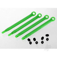 Push rod (moulded composite) (green) (4pcs) / hollow balls (8pcs)