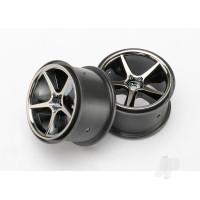Wheels, Gemini (black chrome) (2pcs)