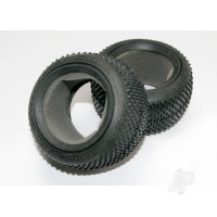 Tires, Response Pro 2.2in (soft-compound, narrow profile, Short knobby design) / foam inserts (2pcs)