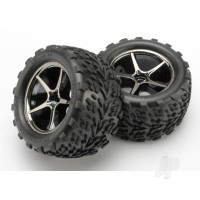 Tyres and Wheels, Assembled Glued Talon Tyres (2 pcs)