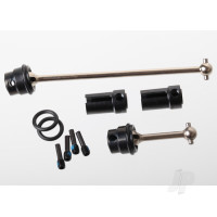 Driveshafts, center (steel constant-velocity) front (1pc), rear (1pc) (fully assembled)