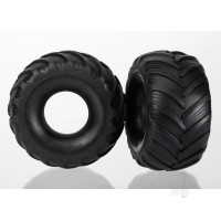 Tires, dual profile (1.5in outer and 2.2in inner) (left and right)