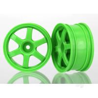 Wheels, Volk Racing TE37 (green) (2pcs)