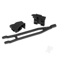 Battery hold-downs, tall (2pcs) (allows for installation of taller, multi-cell batteries)