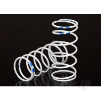 Spring, shock, white (GTR Long) (0.892 rate blue) (1 pair)
