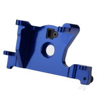 Motor mount, 6061-T6 aluminium (blue-anodized)