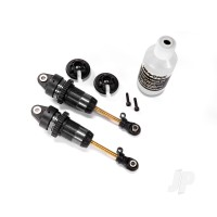 Shocks, GTR Long hard-anodized, PTFE-coated bodies with TiN shafts (assembled) (2 pcs) ( with out springs)