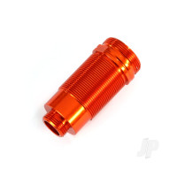 Body, GTR Long shock, aluminium (orange-anodized) (PTFE-coated bodies) (1pc)