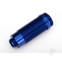 Body, GTR XX-Long shock, aluminium (Blue-anodized) (PTFE-coated bodies) (1pc)