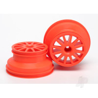 Wheels, orange (2pcs)