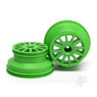 Wheels, green (2pcs)