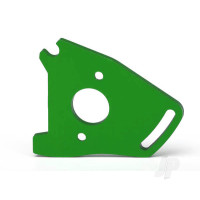 Plate, motor, green