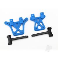 Shock tower, front (1pc), rear (1pc) / shock tower brace (2pcs)