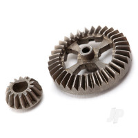 Ring gear, differential / pinion gear, differential (metal)