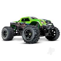 Green X-Maxx 1:7 4X4 Brushless Electric Monster Truck (+ TQi, TSM, VXL-8s, Velineon 1200)