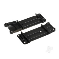 Mount, tie bar, front (1pc) / rear (1pc)