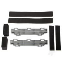 Spacer, battery compartment (2 pcs) / foam blocks (4 pcs) / foam pad (2 pcs)
