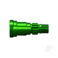 Stub axle, aluminium (Green-anodized) (1pc) (use only with #7750X driveshaft)