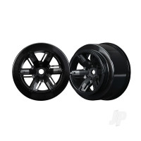 Wheels, X-Maxx, black (left & right)