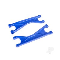 X-Maxx Upper Suspension Arm, Blue (2 pcs)
