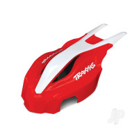 Canopy, front, red / white, Aton
