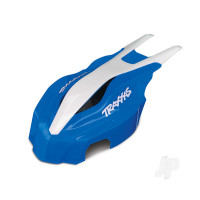 Canopy, Front, Blue / white, Aton