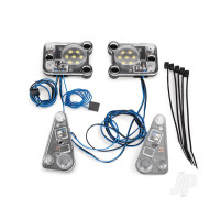 LED headlight / tail light kit (fits #8011 body, requires #8028 power supply)