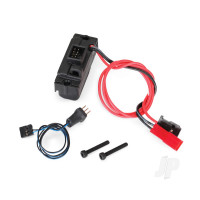 LED lights, power supply (regulated, 3V, 0.5-amp) / 3-in-1 wire harness