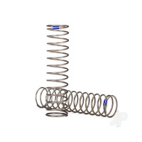 Springs, shock (natural finish) (GTS) (0.61 rate, blue stripe) (2pcs)