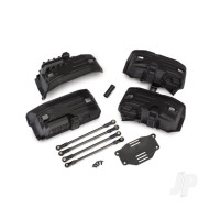 Chassis conversion kit, TRX-4 (Long to Short wheelbase) (includes rear upper & lower suspension links, front & rear inner fenders, Short female half shaft, battery tray, 3x8mm FCS (4pcs))
