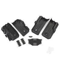 Fenders, inner, front & rear (2 each) / rock light covers (8pcs) / battery plate / 3x8 flat-head screws (4pcs)