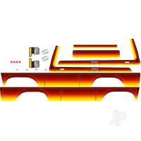 Decal sheet, Bronco, sunset (fits #8010 Body)