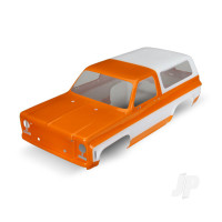 Body, Chevrolet Blazer (1979) (orange) (requires grille, side mirrors, door handles, windshield wipers, decals)