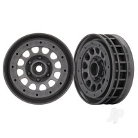 Wheels, Method 105 1.9in (charcoal grey, beadlock) (beadlock rings sold separately)