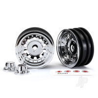 Chrome Wheels (2 pcs)