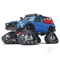 Blue TRX-4 with All-Terrain Traxx 1:10 4WD Electric Truck RTR (+ TQ, XL-5 HV, Titan 550)