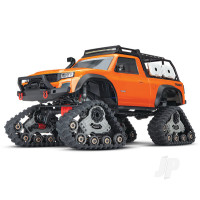 Orange TRX-4 with All-Terrain Traxx 1:10 4WD Electric Truck RTR (+ TQ, XL-5 HV, Titan 550)