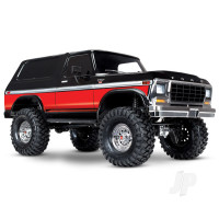 Red TRX-4 Ford Bronco 1:10 RTD 4WD Electric Truck (+ TQi, XL-5 HV, Titan 550)