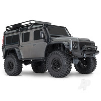 Silver TRX-4 Land Rover Defender 1:10 4X4 Electric Trail Crawler RTD (+ TQi, XL-5 HV, Titan 550)