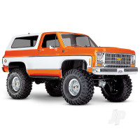 Orange TRX-4 1979 Chevrolet Blazer 1:10 4WD Electric Scale and Trail Crawler RTD (+ TQi , XL-5 HV, Titan 550)