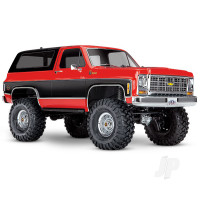 Red TRX-4 1979 Chevrolet Blazer 1:10 4WD Electric Scale and Trail Crawler RTD (+ TQi , XL-5 HV, Titan 550)